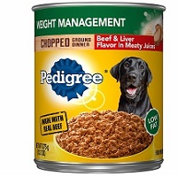 The Pedigree Weight Management Adult Wet Dog Food
