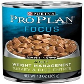 The Purina Pro Plan Focus Weight Management