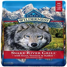 Blue Buffalo Wilderness Snake River Grill High Protein Grain Free