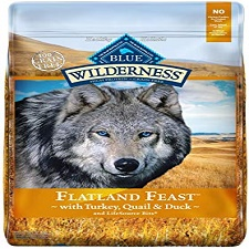 Blue Buffalo Wilderness Flatland Feast High Protein Grain Free