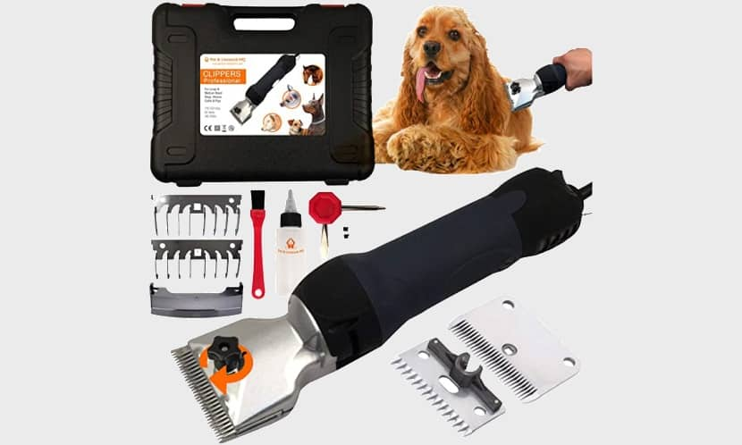 Best Electric Hair Trimmer for Dogs with Thick Coats Pet and Livestock HQ Clippers Kit