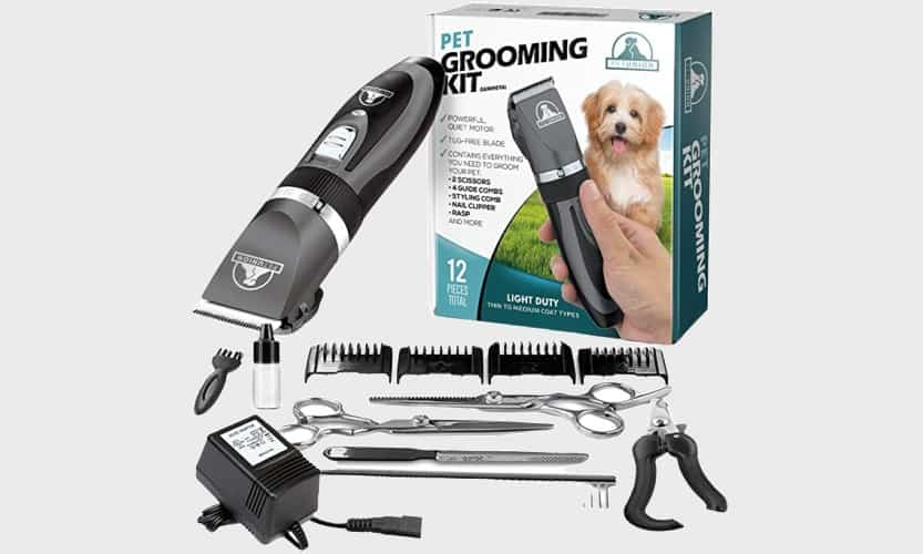 Cheap but Good Dog Clipper Pet Union Grooming Kit